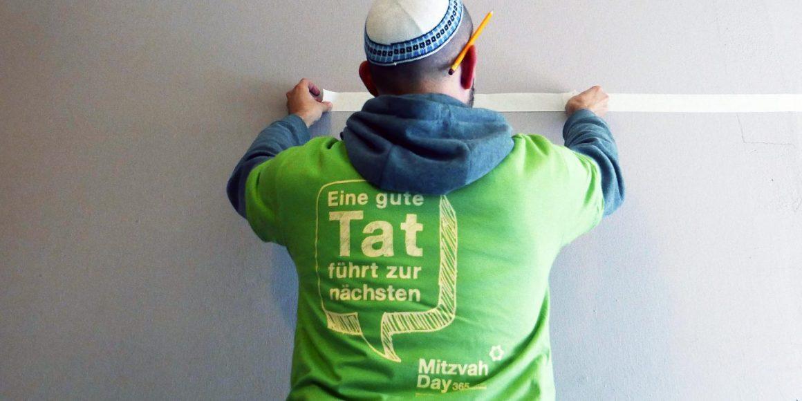 Teilnehmer des Mitzvah Day 2016 in Berlin