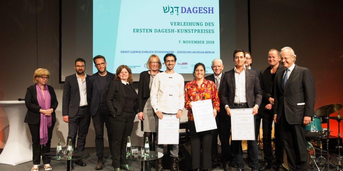 Kunstpreis Dagesh Verliehen Judische Allgemeine