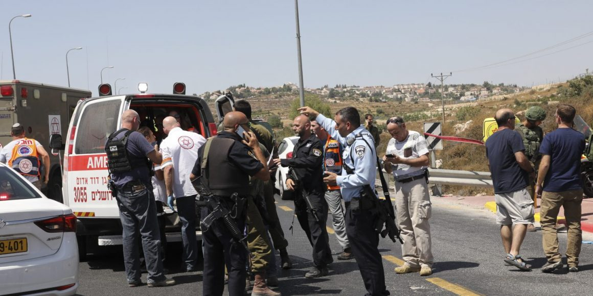 Palästinensische Autoattacke nahe Jerusalem