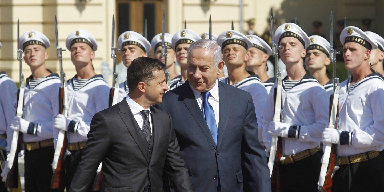 Regierungschef Netanjahu besucht Kiew