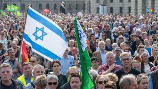 Große Solidarität mit jüdischen Gemeinden