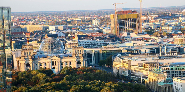 Der Blick auf Berlin